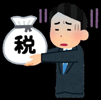 追加徴税 計算 分割